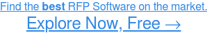 See the Highest-Rated RFP Software, Free →