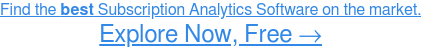 See the Easiest-to-Use Subscription Analytics Software →