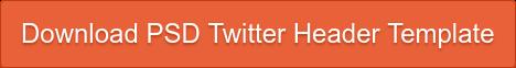 Download PSD Twitter Header Template