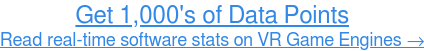 Read software stats on Virtual Reality Game Engines Get more data...
