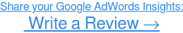 Review Google AdWords →