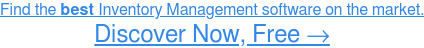 Find the bestInventory Management software on the market. Show Me Now →