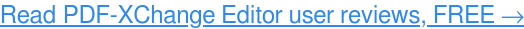 ReadPDF-XChange Editor user reviews, FREE →