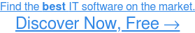 Find the best Information Technology software on the market. Explore Now, Free →