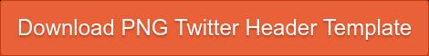 Download PNG Twitter Header Template