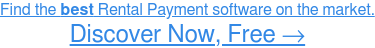 Find the best Rental Payment software for your business. Learn more for FREE→