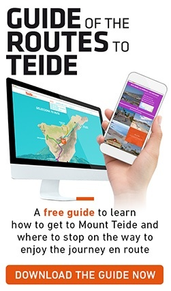 Guide of road routes to Teide
