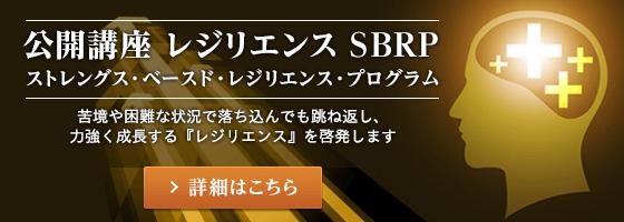 公開講座 レジリエンス SBRP