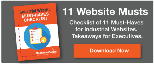 Industrial Website Must-Haves Checklist