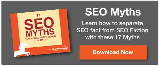 17 SEO Myths to Leave Behind in 2104 - Shanahan Design