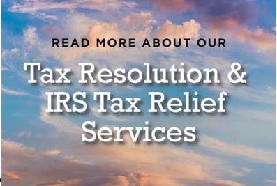 Tax Resolution and IRS Debt Relief - to main page