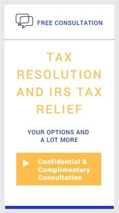 Tax Resolution and IRS Debt Relief Consultation