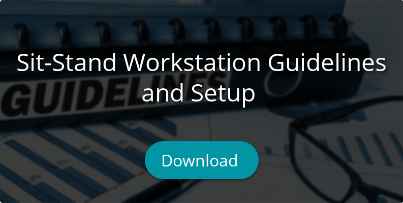 Sit-Stand Workstation Guidelines  and Setup  Download