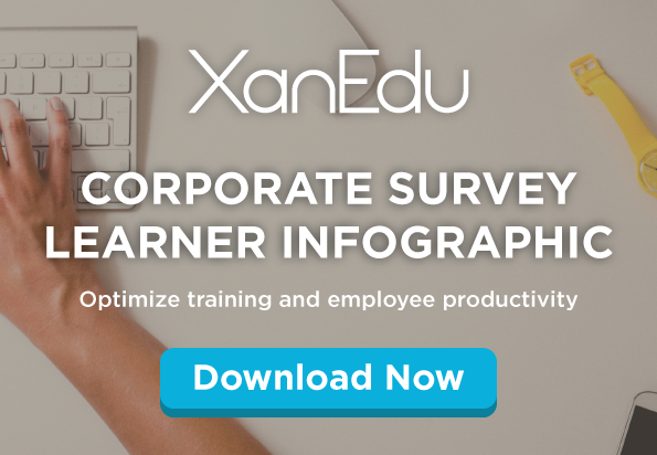 Corporate Learner Survey : Infographic