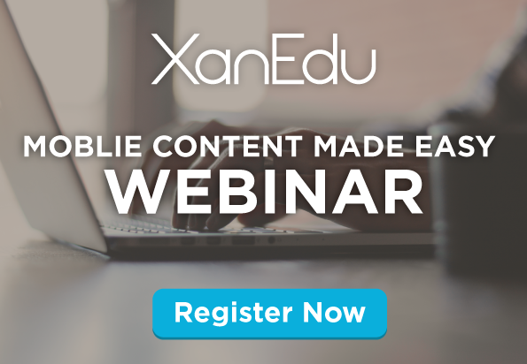 XanEdu - Mobile Content Made Easy Webinar