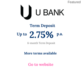 UBank Term Deposit