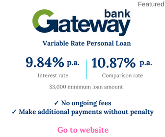 Gateway Personal Loan