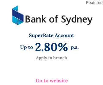 Bank of Sydney SuperRate account