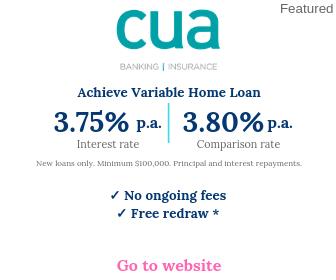 CUA Achieve Variable Home Loan