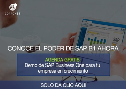 Agenda Gratis Demo SAP Business One