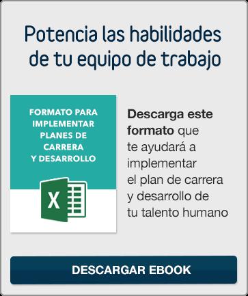 Descargar Formatoo para Implementar Planes de Carrera y Desarrollo
