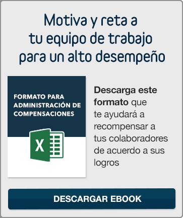 Descargar Formato para Administración de Compensaciones