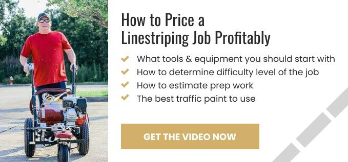 Linestriping Job