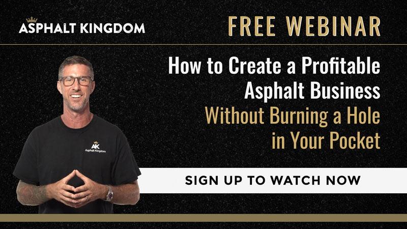 Build a Profitable Asphalt Business