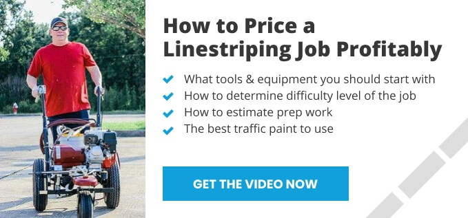 How to Bid a Linestriping Job