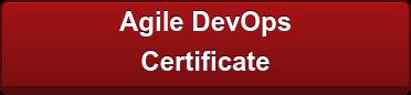 Agile DevOps  Certificate