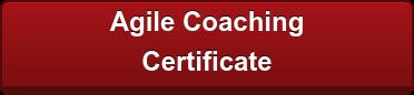 Agile Coaching  Certificate