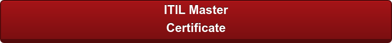ITIL Master  Certificate