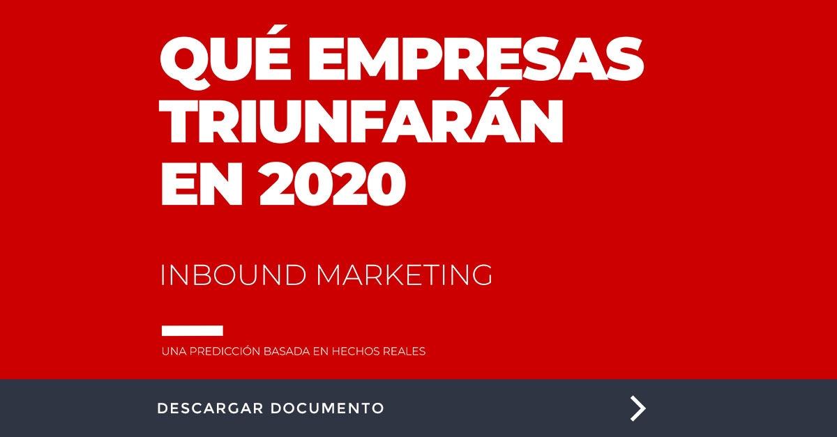 Descubre qué empresas triunfarán en 2020