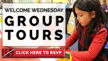 RSVP Now: Welcome Wednesday Group Tours