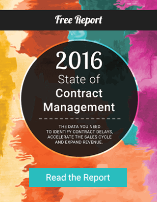 2016 State of Contract Management Report