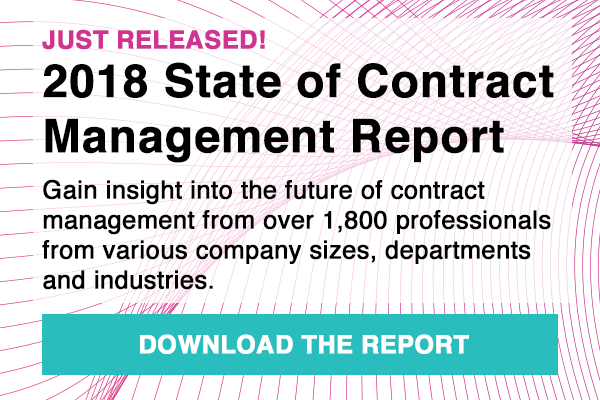 Download 2018 State of Contract Management