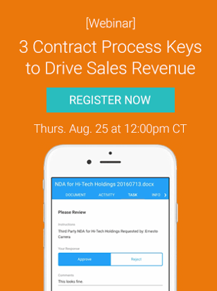 3 Contract Process Keys to Drive Sales Revenue