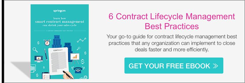 6 CLM Best Practices