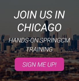 SpringCM Training is Coming to Chicago