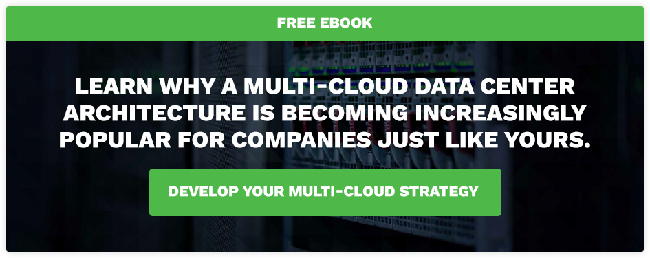 Multi-Cloud Data Center Architecture