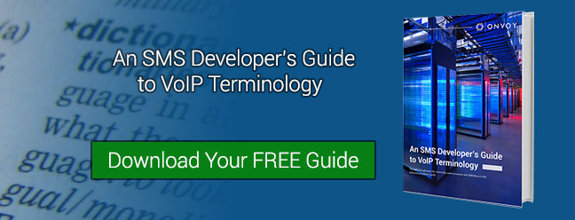 Download our SMS Developer's Guide to VoIP Terminology