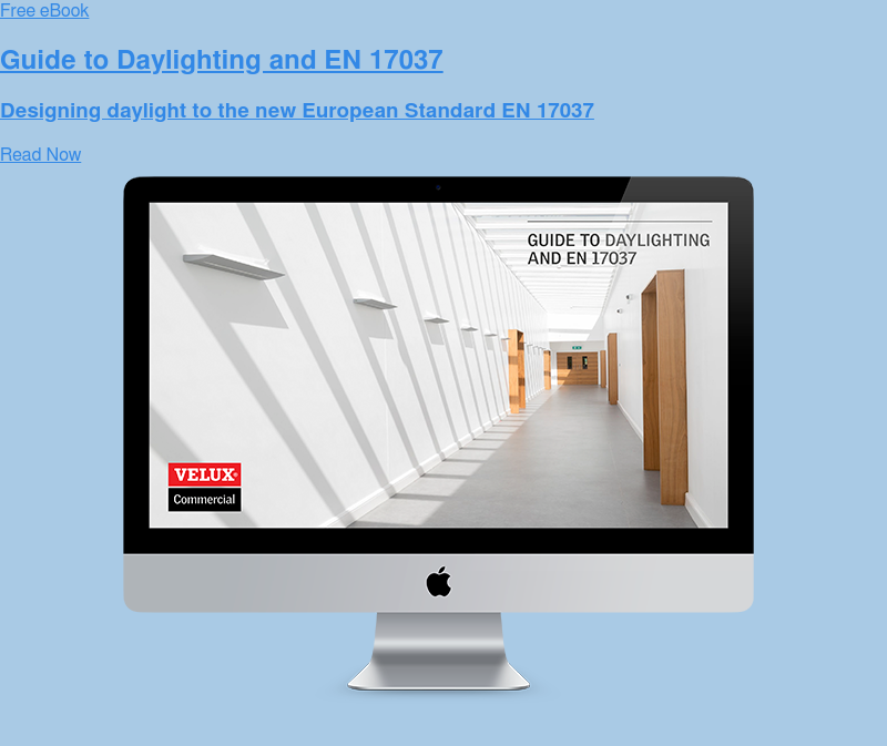 Free eBook  Guide to Daylighting and EN 17037  Designing daylight to the new European Standard EN 17037 Read Now