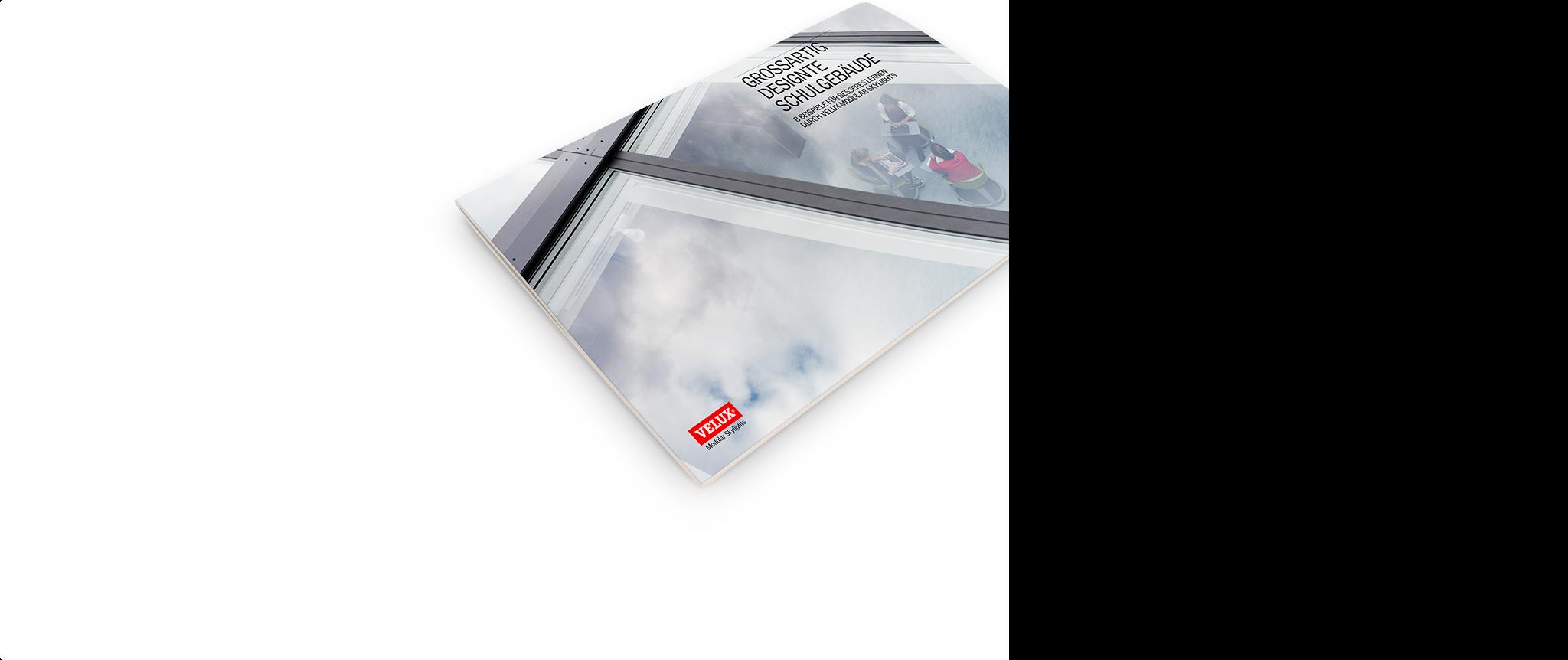 Grossartig designte Schulgebäude  Laden Sie das Referenzbuch herunter, das anhand von acht bereits realisierten  Projekten zeigt, wie Architekten mit VELUX Modular Skylights gesündere und  hellere Schulen entwerfen können. Jetzt herunterladen