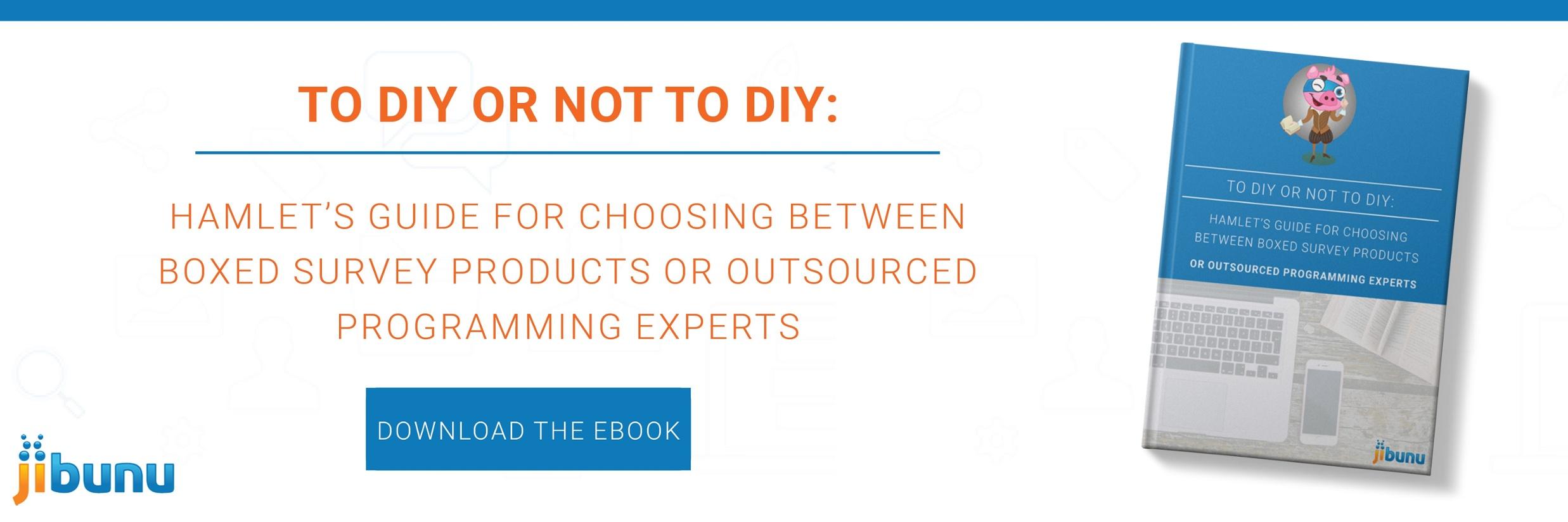 To DIY or Not to DIY