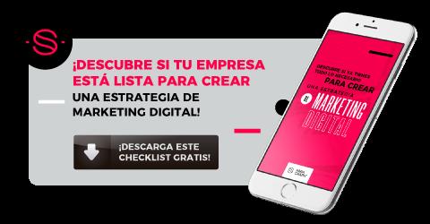 CTA - Checklist Marketing Digital