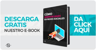 Descarga Ebook cómo generar leads desde redes sociales
