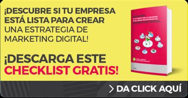 Checklist Como crear una Estrategia de Marketing Digital