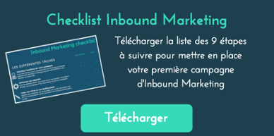 Télécharger checklist actions inbound marketing