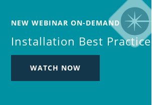 Live Webinar Installation Best Practices Wednesday, June 17 – 10 AM PST Register now