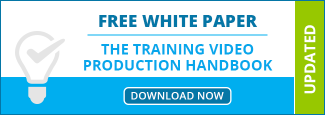 Free Whitepaper: The Training Video Production Handbook